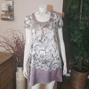 BCBGMaxAzria Print Dress